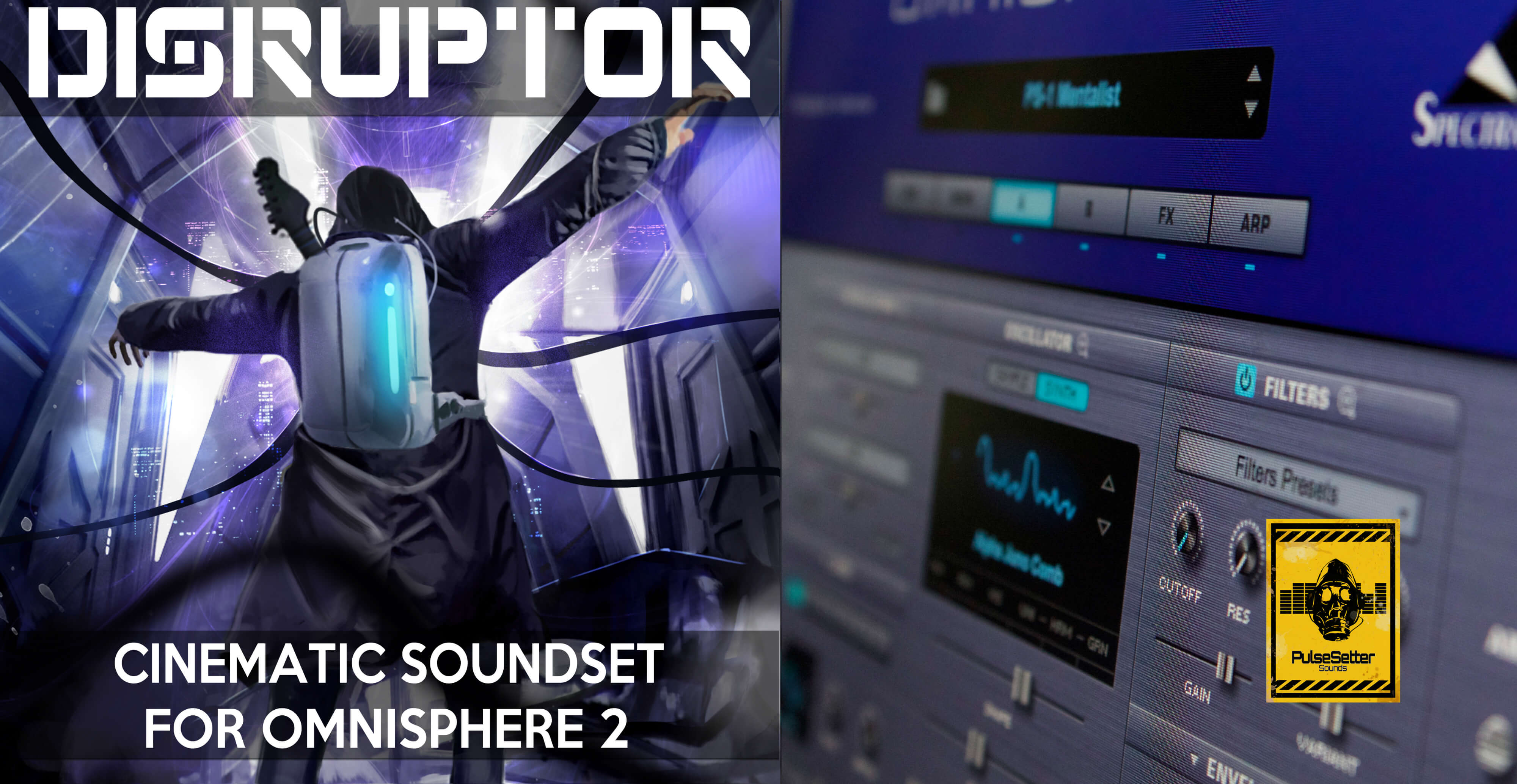 DISRUPTOR: New Omnisphere Soundset for Film and Video Game Composers